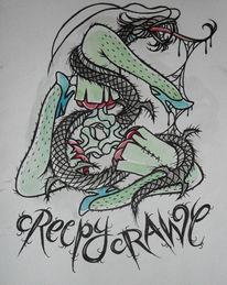 Bein, Monster, Schlange, Haarig