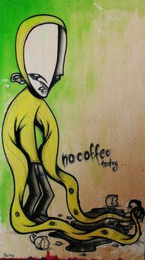 Alltag, Kaffee, Tag, Off