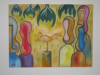 Malerei, Begegnung
