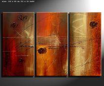 Natur, Gemälde, Malerei, Design