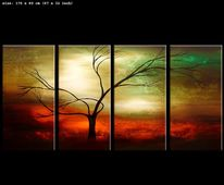 Natur, Moderne kunst, Gemälde, Malerei
