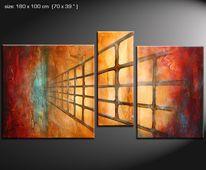 Malerei, Design, Natur, Moderne kunst