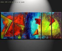 Gemälde, Design, Moderne kunst, Malerei