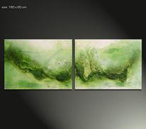 Malerei, Gemälde, Natur, Moderne kunst