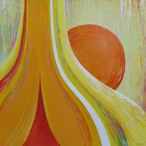 Abstrakt, Konzept, Malerei