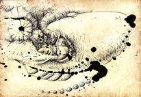 Verhältnis, Handschellen, Spitzbube, Metamorph