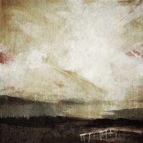 Intuition, Acrylmalerei, Amorph, Düster