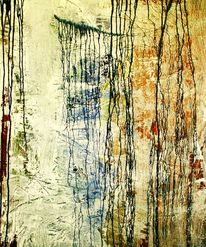 Kleinkrieg, Demolierung, Acrylmalerei, Malerei