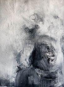Malerei, Abstrakt, Priester,