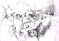 Revolte, Zeichnungen