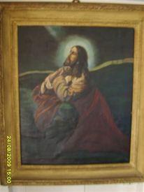 Ölmalerei, Ikonen, Jesus, Pinnwand
