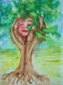 Baum, Ruhe, Gefühl, Stärke