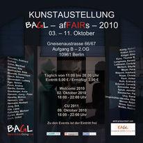 Veranstaltung, Bagel, Farben, Gneisenaustrasse