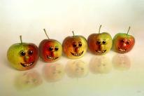 Obst, Humor, Apfel, Kinderzimmer