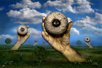 Geheimnisvoll, Fantasie, Digital, Baum