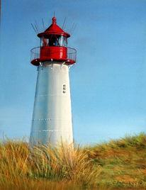 Meer, Sommer, Sylt, Leuchtturm