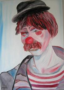 Figural, Malerei, Clown