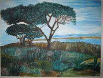 Portugal, Küste, Algarve, Malerei