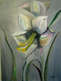 Blumen, Lilie, Malerei, Stillleben