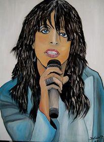 Sängerin, Malerei
