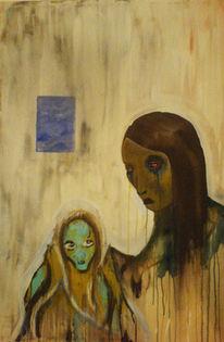 Malerei, Abstrakt, Please