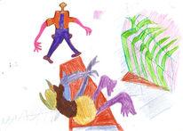 Buntstiftzeichnung, Zeichnung, Zeichnungen