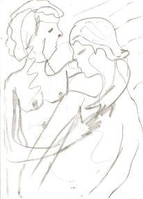 Zeichnung, Bleistiftzeichnung, Zeichnungen