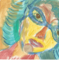 Portrait, Malerei, Fiktive, Figural