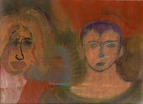 Malerei, Fantastisch, Ölmalerei, Figural