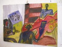 Figurative malerei, Ölmalerei, Malerei