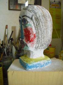Kopf, Portrait, Stein, Objekt