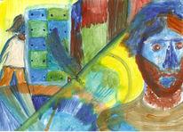 Ölfarben, Malerei, Figurativ