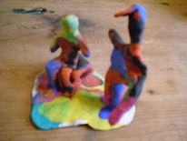 Objektkunst, Plastik, Figural, Farben