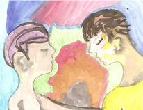 Figurativ, Malerei, Fantasie, Romantisch