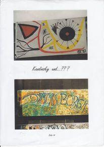 Graffiti, Aktion, Kunst, Einen