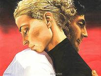 Mann, Frau, Liebe, Portrait