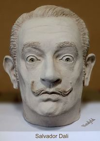 Ton, Portrait, Dalí, Kunsthandwerk