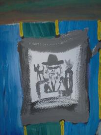 Cruz, Selbstportrait, Malerei,