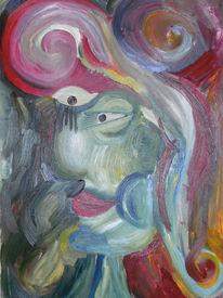 Cruz, Ölmalerei, 2008, Punk