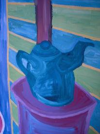 Tee, Arbeiten, Cruz, Malerei