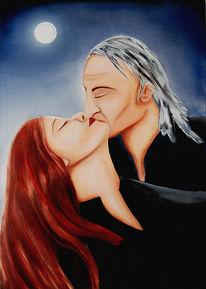 Vampir, Dracula, Ölmalerei, Himmel