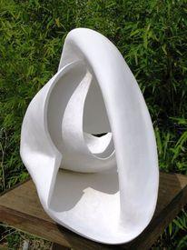 Abstrakt, Abstrakte skulptur, Plastik