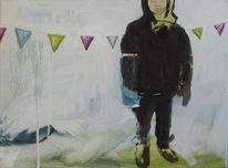 Graf, Malerei, Kids, Girlande