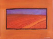 Landschaft, Farben, Malerei, Feld
