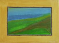 Landschaft, Farben, Malerei, Blick