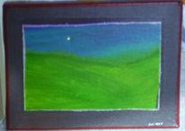 Farben, Landschaft, Malerei,