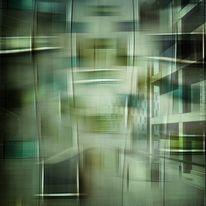 Fensterfront, Farben, Digitale kunst, Abstrakt
