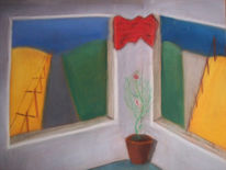 Remlingen, Pastellmalerei, Keide, Fenster