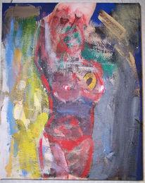 Katzenportrait, Aquarellmalerei, Asse, Frau