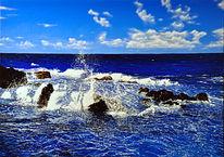 Acrylmalerei, Landschaft, Fotorealismus, Meer